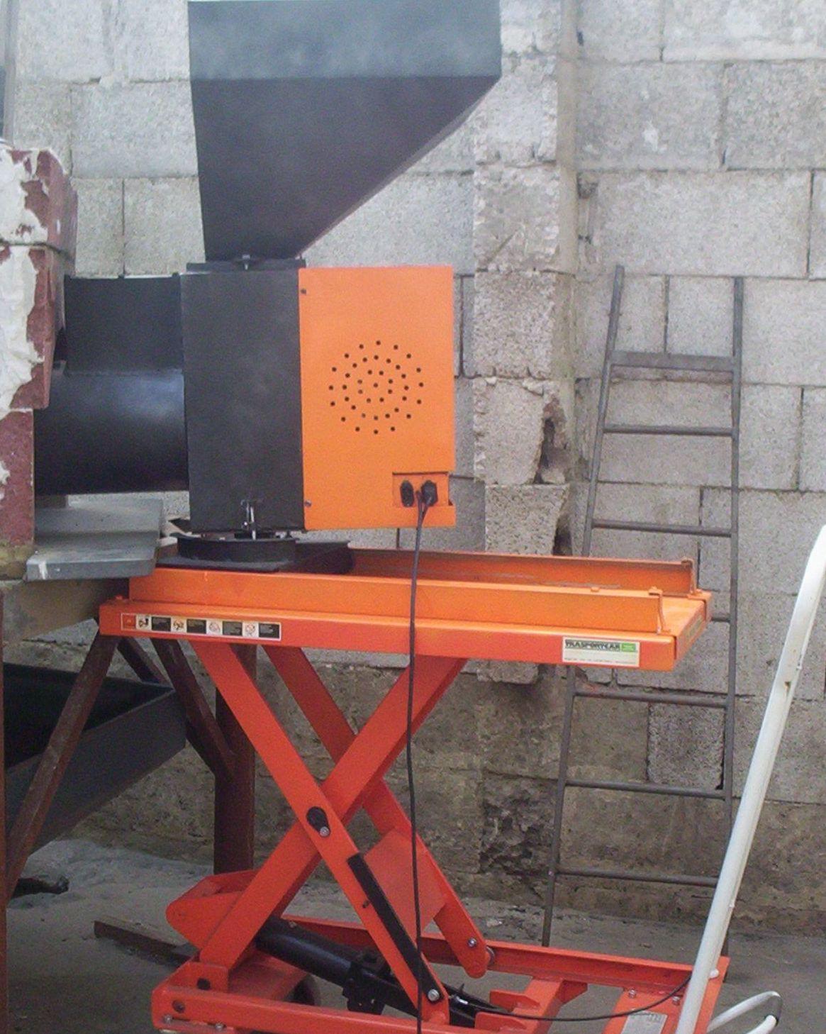 Bruciatore ecologico per forni pane panifici for Bruciatore a pellet per forno