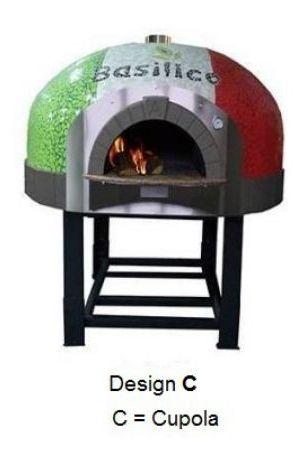 Forno pizza legna personalizzato