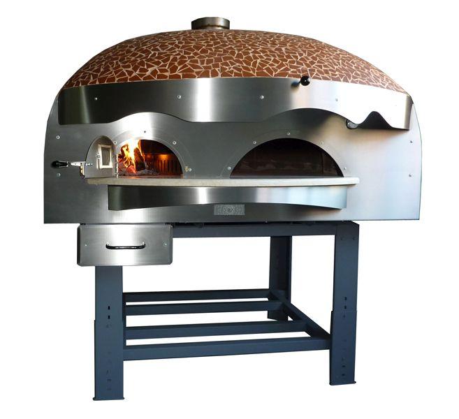 Forno pizza a cupola modello LV a legna