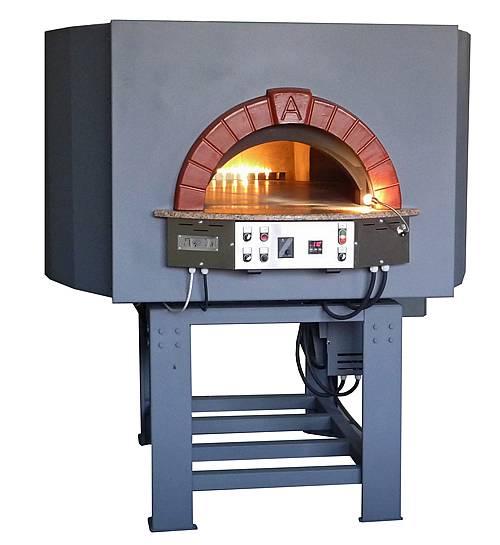 Forno pizzeria cottura a gas accensione