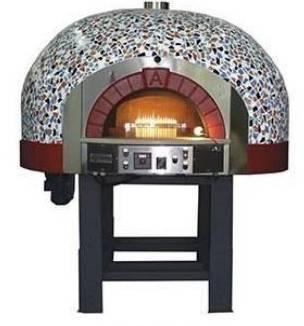 Forno con sistema a gas per pizze