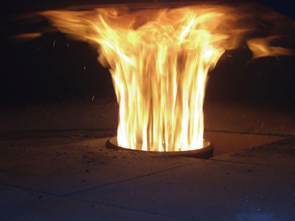 Bruciatore a pellet per forni pizza Volcanomatic