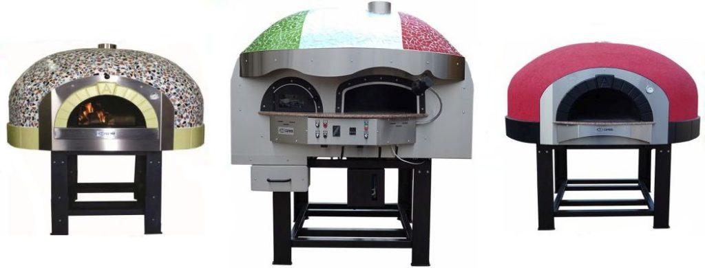 Forni pizza a legna, forni pizza a gas, forni pizza rotanti